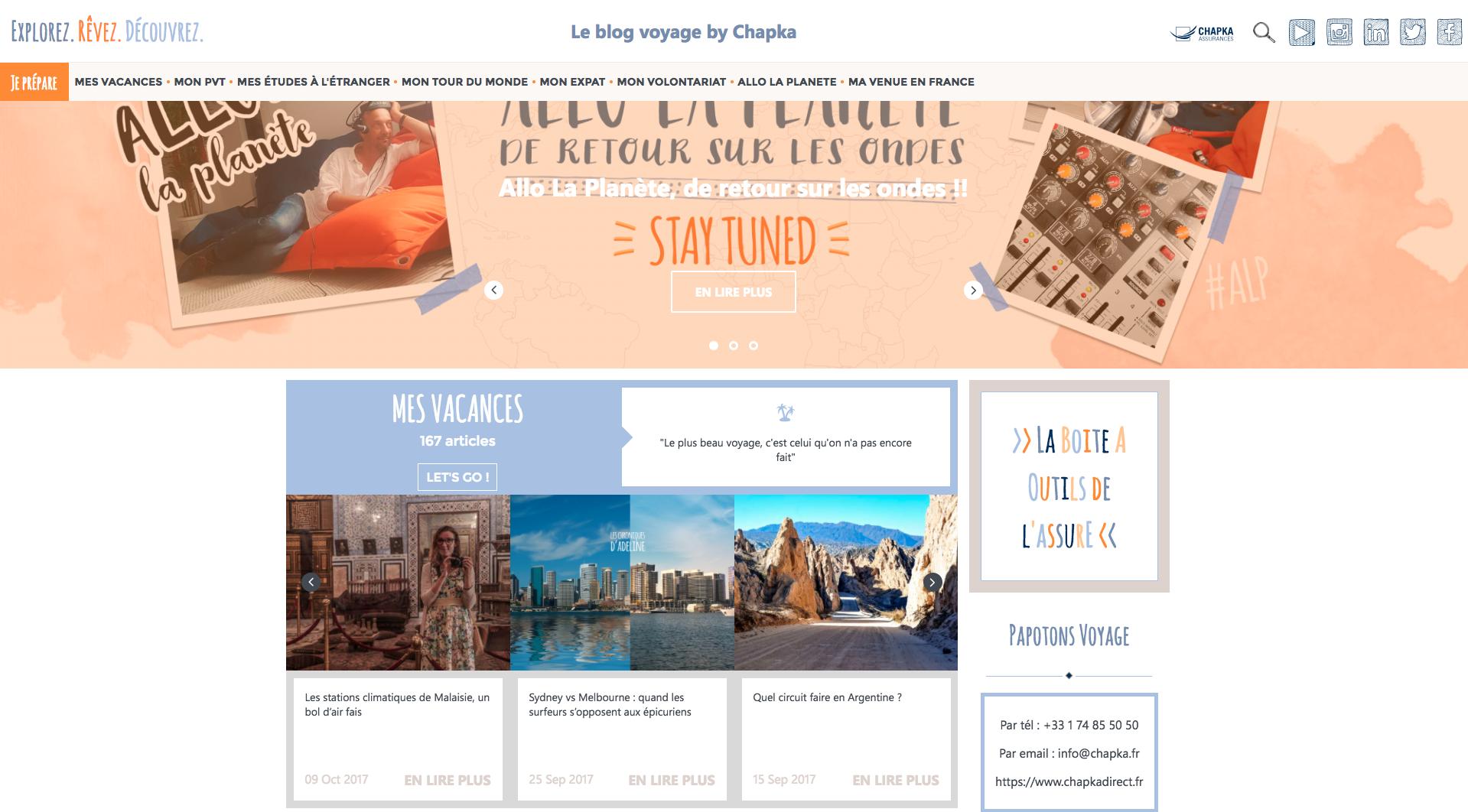 blog chapka