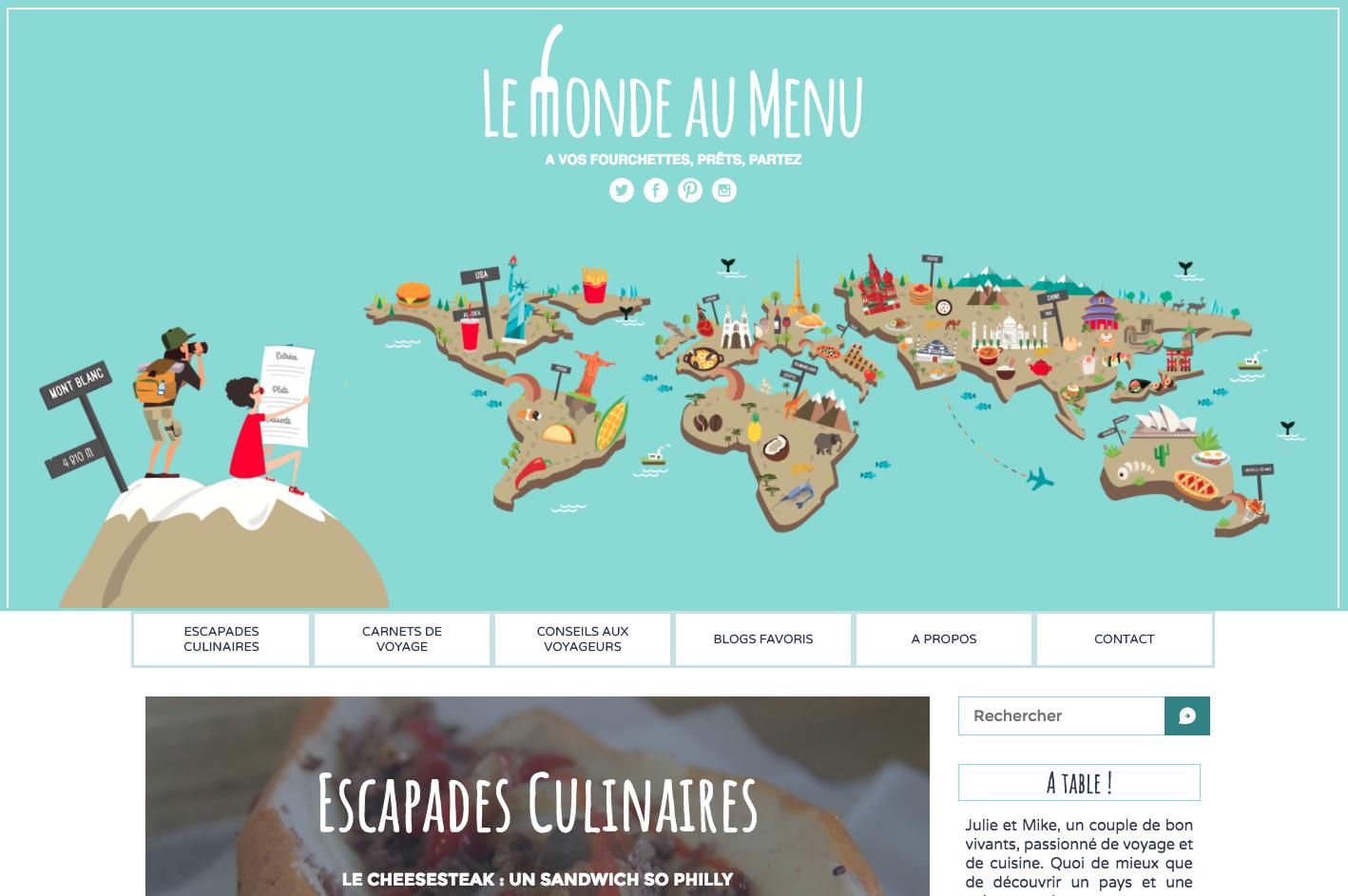 le monde au menu blog